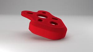 Soft mount arm protectors for the ImpulseRC APEX frame