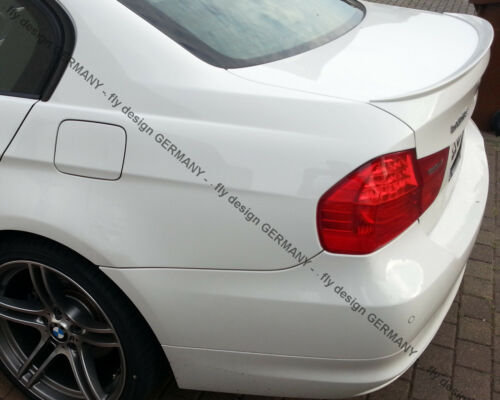 für BMW 525 535 528 550 Trunk Lip E60 Spoiler Rear Tail Lid BLACK Body kit becqu