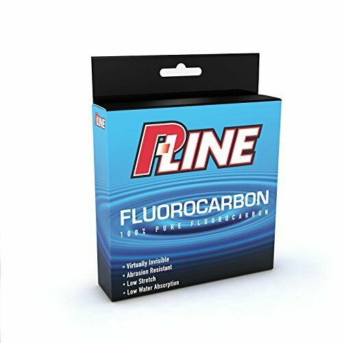 Durable & Transparent Angler's Flugoldcarbon Fishing Line w  25lb Test (250yd)