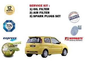 For Suzuki Ignis 1 3 1 5 4grip 2003 Service Kit Oil Air Filter Set