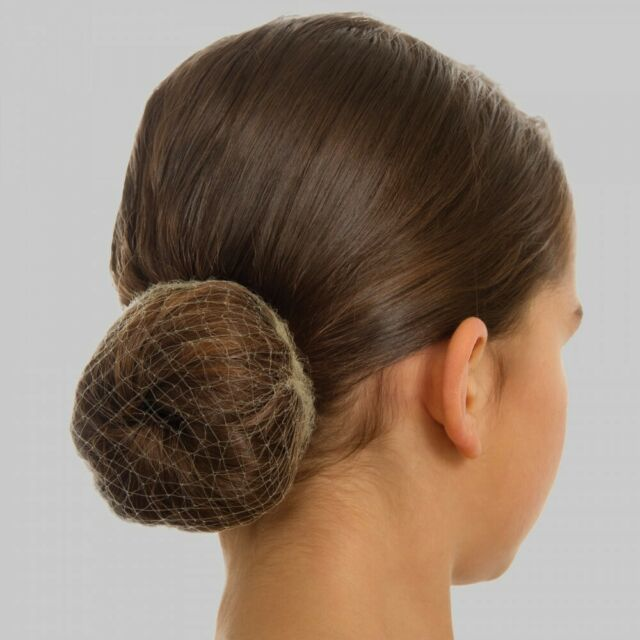 1st Position Blonde Bun Nets - Pack Of 3 - Ballet Dance Hair Accessory