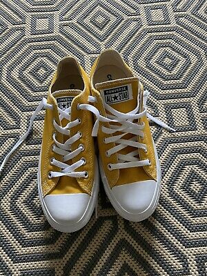 Womens Converse Trainers, Mustard