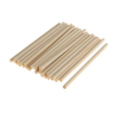 Natural Homeford Wooden Craft Dowel Sticks 6-Piece 12-Inch