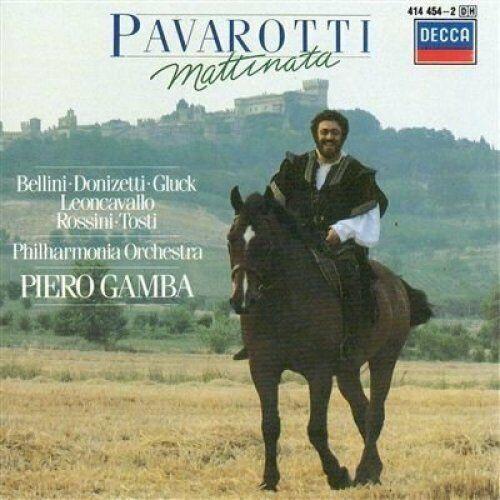Luciano Pavarotti Mattinata (1977/82/85, Decca, & Philharmonia Orchestra/.. [CD]