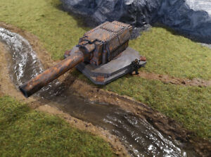 Heavy Cannon Emplacement (Culverin Models)