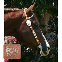 Billy Royal Light Oil - Double Ear - Silver Ferrule Show Headstall