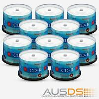 400 X Intact Cd Blank Disc Media - Printable Cd-r Discs Gloss - 52x Burn