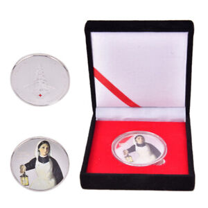 Nurse-Challenge-Coin-Silver-Plated-Coin-with-Black-Box-Souvenir-Arts-Gifts-Ne-Nd