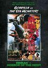 Ebirah Horror of The Deep Godzilla 0814131012159 DVD Region 1