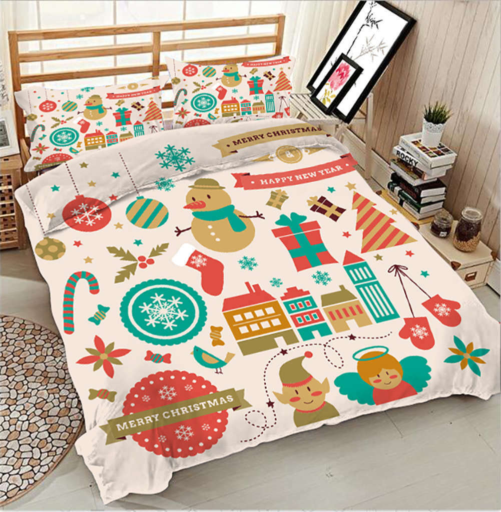 Chocolate Biscuit 3D Printing Duvet Quilt Doona Covers Pillow Case Bedding Sets