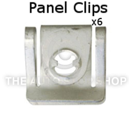 Panel Clips Cowling Seat Range Alhambra//Cordoba//Exeo etc Part 11074se Pack of 6