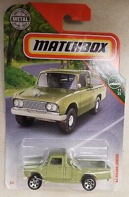 Matchbox 2019 89-nuevo en caja original /'62 nissan junior-MBX Service