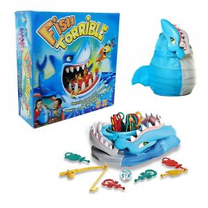 Pescado-torrible-Juego-De-Mesa-Ninos-Juguete-Diversion-Familiar-Shark-Morder