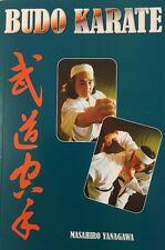 BUDO KARATE NEW BOOK WADO MASTER YANAGAWA ENGLISH & JAPANESE MARTIAL ARTS SCRIPT