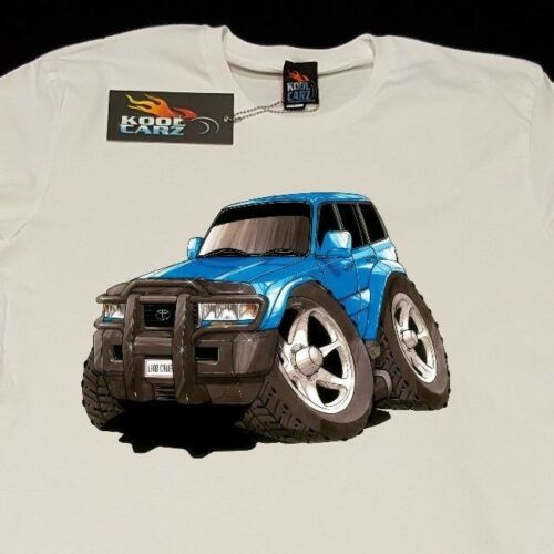 T-shirt Toyota Landcruiser 4X4 off road 4WD AS Colour shirt car enthusiast