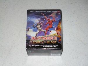 IRON MAIDEN LEGACY OF THE BEAST Wave 1 SPEED OF LIGHT Mini Figure Blind Box