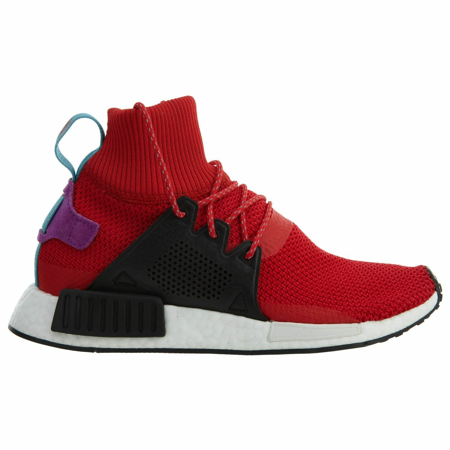 4ea95db8accb Adidas Nmd XR1 Winter Mens BZ0632 Red Black Boost Boost Boost Roller Knit  shoes Size 10 799e2b
