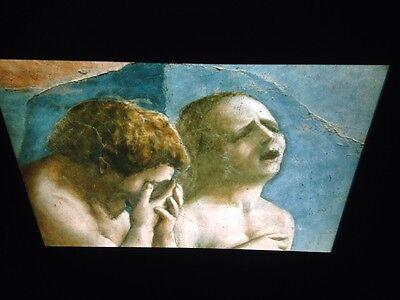 "Industrious Masaccio Brancacci ""adam & Eve Expelled Det"" Italian Renaissance Art 35mm Slides Other Art"