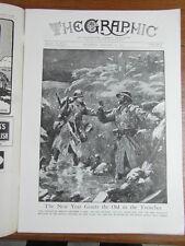 genre L ILLUSTRATION : WWI WAR GUERRE 14/18 : revue THE GRAPHIC 1917 Nr 2459