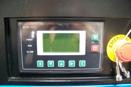 Air-Max  10hp. Industrial Rotary Screw Compressor W//dryer//filters//120 tank NEW
