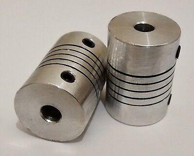 5x8mm Motor Shaft Coupler ideal for 3D printer shafts Reprap 5mm to 8mm CNC