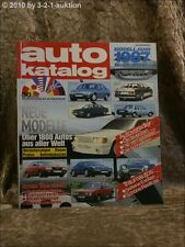Auto Katalog Autokatalog AMS 1987 Nr. 30