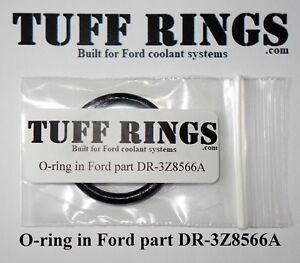 Greased O-ring for Ford part DR3Z8566A (DR3Z8566B) T-Connector, GUARANTEED FIT!