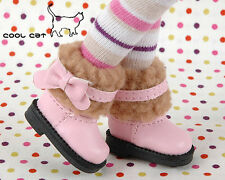 ☆╮Cool Cat╭☆【18-05】Blythe Pullip Doll Boots # Pink