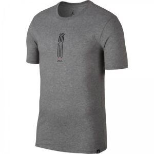 9390c7fd0af98c Nike Men s Air Jordan 10 Tee NEW AUTHENTIC Black Grey AO9018-091