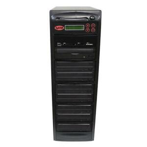 SySTOR 1-7 USB/SD/CF/MS/MMC MultiMedia Backup Copier to CD DVD Duplicator