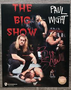 BIG-SHOW-WWF-WWE-SIGNED-AUTOGRAPHED-8X10-PHOTO