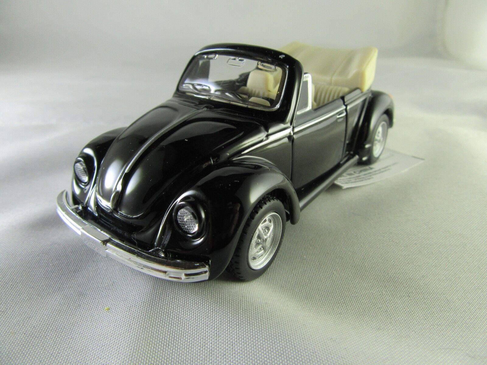 Maisto® Modellauto blackes VW Volkswagen Käfer 1303 Cabriolet ca. 1 36  Neu