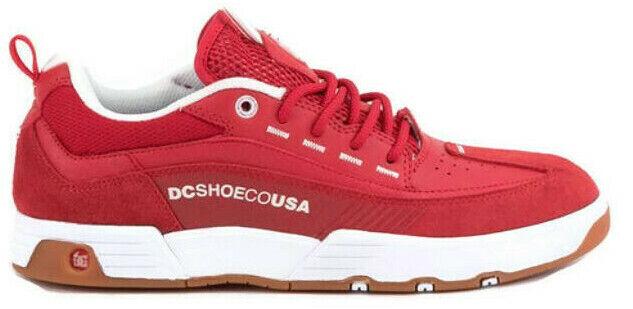 New DC scarpe Uomo Legacy 98 98 98 Slim Skate Low Top scarpe da ginnastica scarpe Dimensione 11 rosso 4e6e06