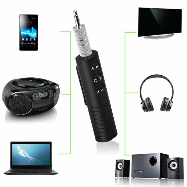 1PC Car Bluetooth Audio Receiver 3.5mm AUX Wireless Mini Adapter