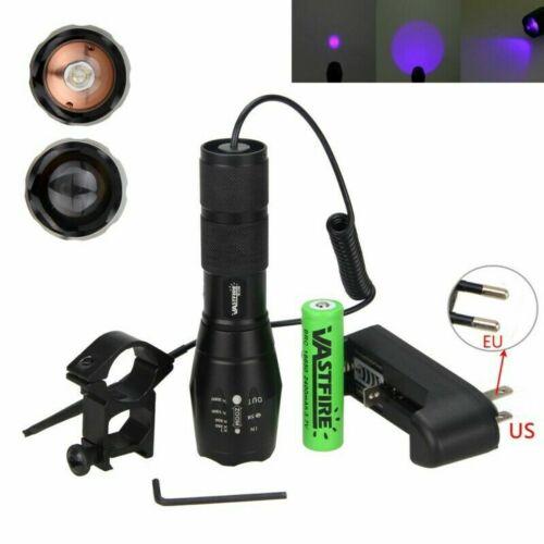 UV Super Violet 3x LED Flashlight Blacklight Light 395nm Inspection Lamp Torch