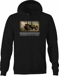 Hooded SweaT Shirt Since 1941 Army Military Classic 4x4 Hoodies for Men