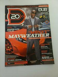 Money Mayweather & Jermaine Dupri In DUB Magazine #51 Jan 2008 Complete