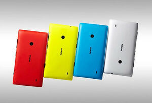 official photos b1e86 83eac Details about New Original Nokia lumia 520 Housing Battery Back Cover Rear  Shell Case Red