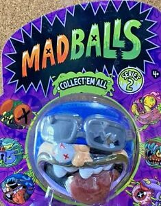 THEY'RE BACK BABY!!! BRUISE BROTHER MADBALLS UGLY TOYS SERIES 2 2017 TCFC MOC!!!