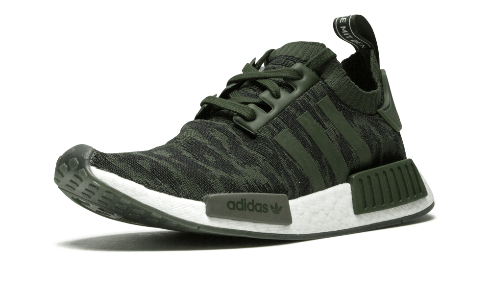 huge selection of 86873 21af4 Adidas NMD R1 Primeknit Primeknit Primeknit NIGHT CARGO OLIVE GLITCH GREEN  WHITE BOOST CQ2445 Men's 0e7e8f ...