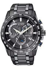 Men's Citizen Eco Drive Perpetual Chronograph A-T Watch AT4007-54E