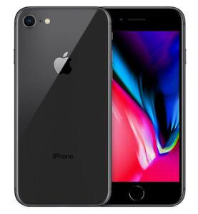 Apple-iPhone-8-64GB-ITALIA-Space-Grey-Originale-4G-LTE-NUOVO-Smartphone-4K-Nero