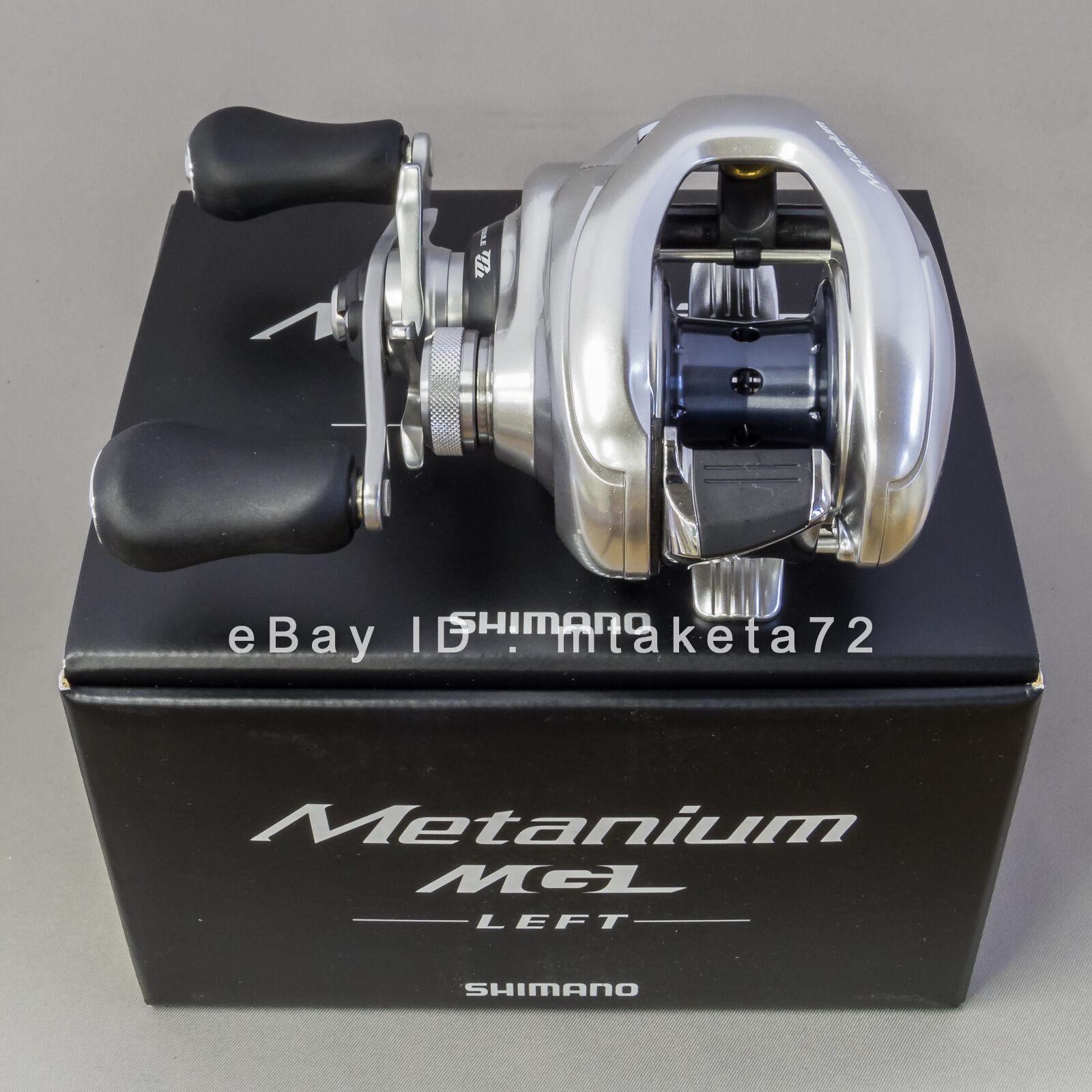 Shimano 16 Metanium MGL, Gear Ratio 6.2 1, Left Handle, Japan Model, 035318
