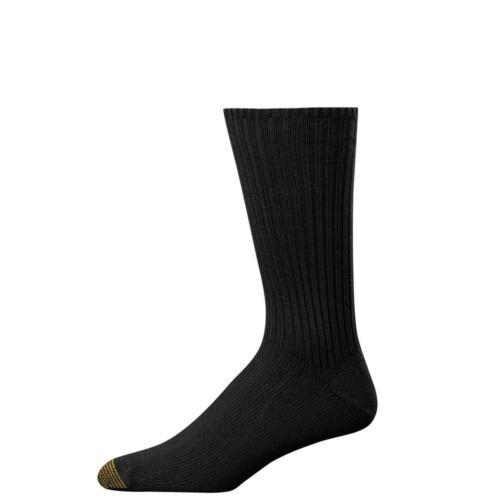 New Gold Toe Men/'s Fluffies Cotton Crew Socks