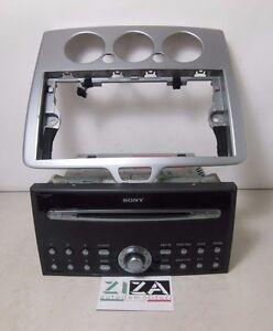Stereo-Autoradio-Radio-Cornice-Cd-Mp3-Ford-Focus-II-2005-4M5T-18C815-BE