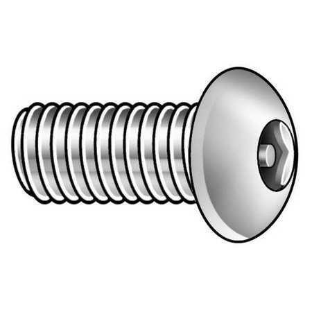 "Tamper-Pruf Screw 22160 #10-32 X 1//2/"" Button Head Hex Head Tamper Resistant"
