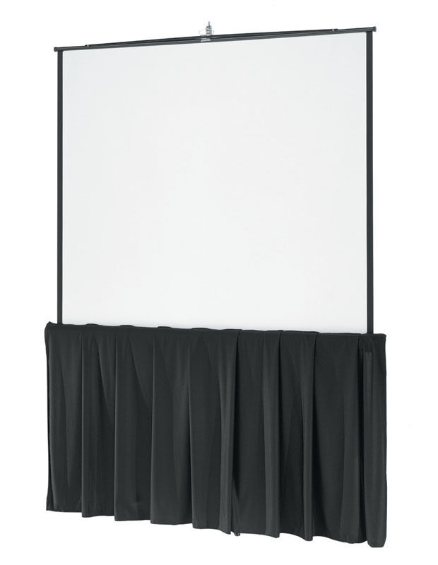Details about  60  Tall x 152  wide Skirt for 9'x12' Fast Fold Projection Screen
