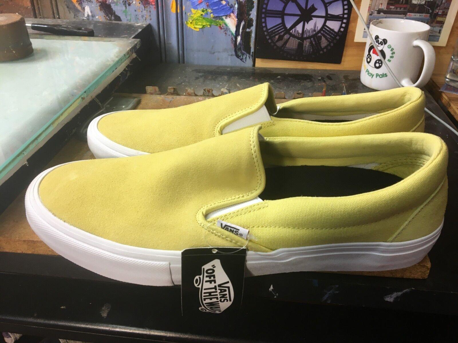 Vans Slip-On PRO Dusky Citron Size US US US 11.5 Men's VN0A347VOUW cc092b