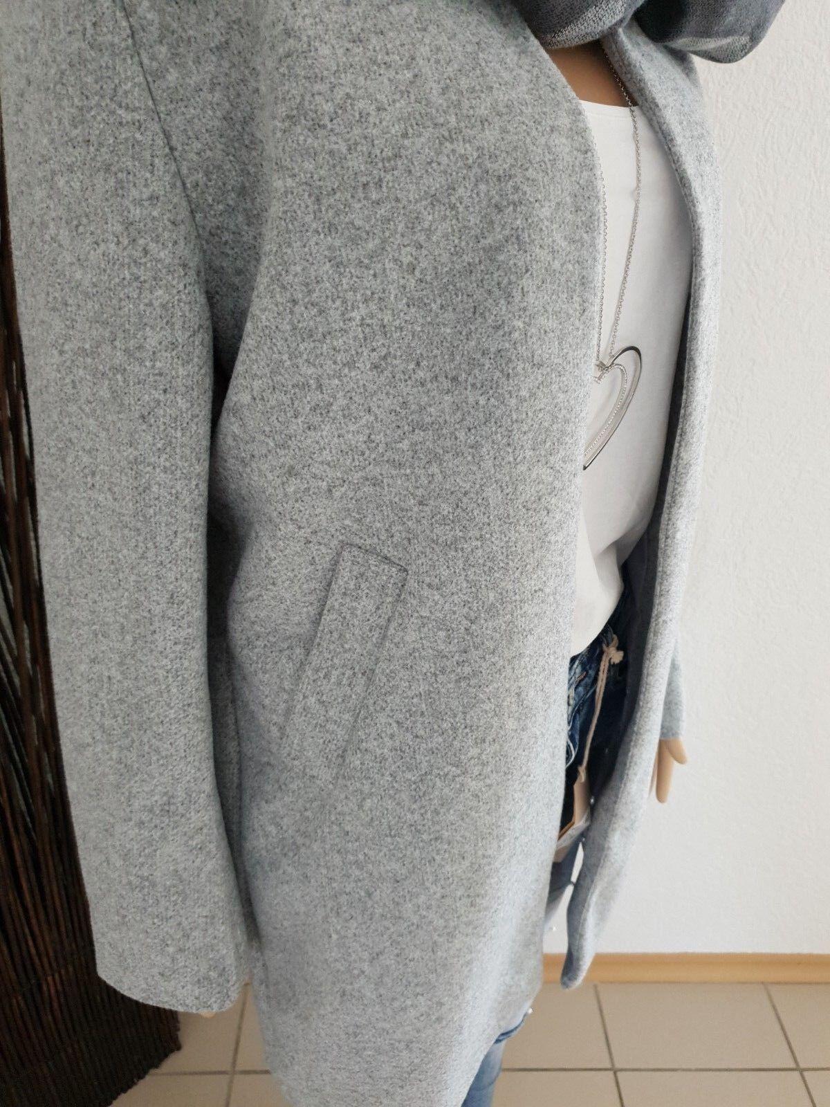 ITALY  ÜBERGANGS    Mantel  grau GR.L NEW COLLETION  TRENDY 2019   Lebhaft und liebenswert    Spielzeugwelt, fröhlicher Ozean    Ein Gleichgewicht zwischen Zähigkeit und Härte  63414f
