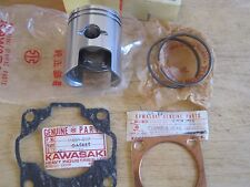 KAWASAKI NOS PISTON & RINGS +.50mm O/S + GASKET C2 C2SS C2TR 13029-010 13025-015
